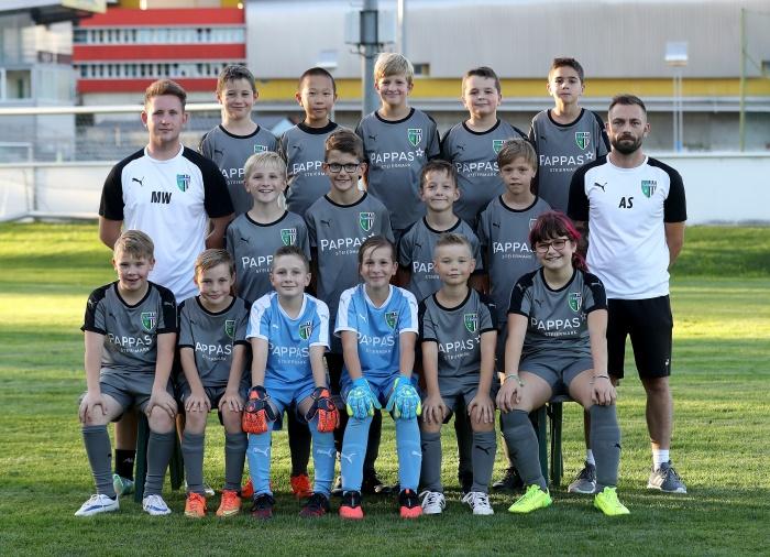 U 11, Mannschaftsfoto, FC Gratkorn